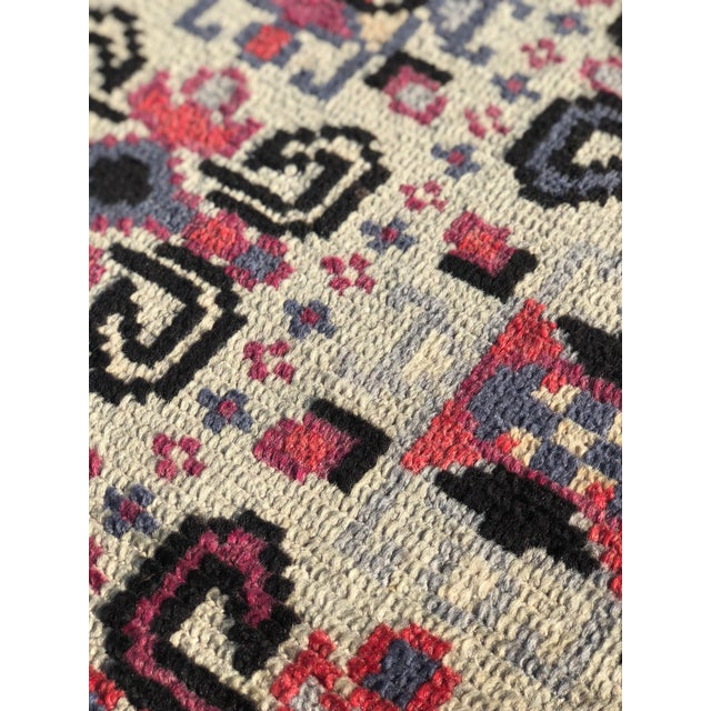 Vintage Turkish Anatolian Small Area Rug - 2′4″ × 4′ For Sale - Image 9 of 11
