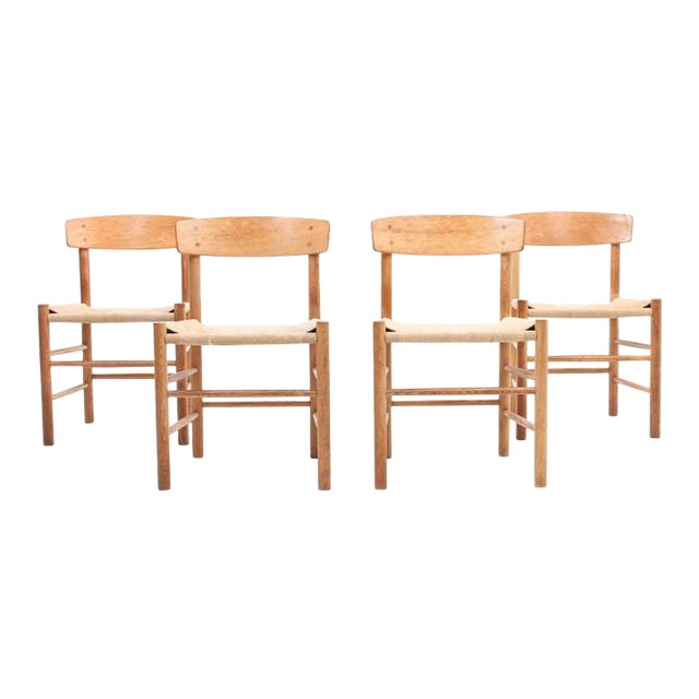 Børge Mogensen J39 Chairs - Set of 4 - Image 1 of 4