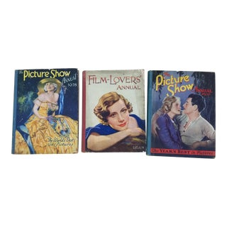 Set 3 1930's Hollywood Movie Star Books For Sale
