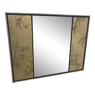 Late 20th Century La Barge Eglomise Mirror For Sale