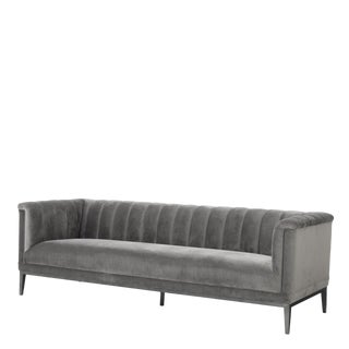 Eichholtz Raffles Gray Sofa For Sale