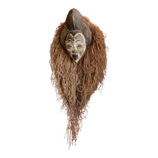 West African Punu Mukadj Spirit Mask For Sale