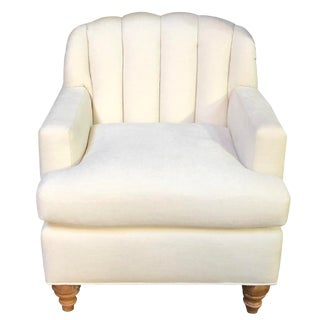 Custom Furniture Builders Club Chair For Sale