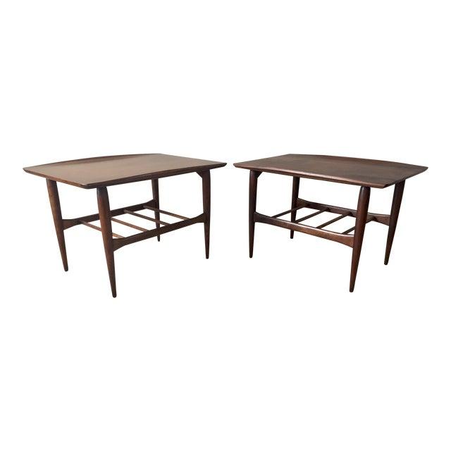 Bassett Side Tables - Pair - Image 1 of 11