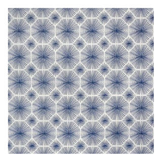 """Sparkler Indigo"" Sunbrella Indoor/Outdoor Upholstery Fabric"