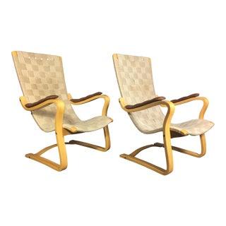 "1970s Swedish Gustaf Axel Berg ""Patronen"" Lounge Chair For Sale"