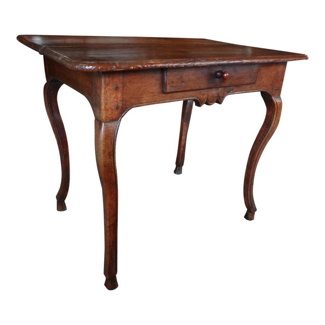 Louis XV Walnut Side Table - Image 1 of 11