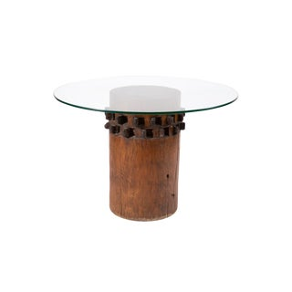 Turn of the Century Wood Dining Table or Pedestal For Sale