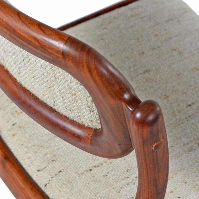 Danish Modern Danish Modern Rosewood Dining Chairs - Set of 4 For Sale - Image 3 of 7