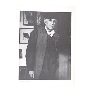 Vintage Photogravure of Famous French Mid Century Modern French Artist Georges Braque-From Derriere Le Miroir For Sale