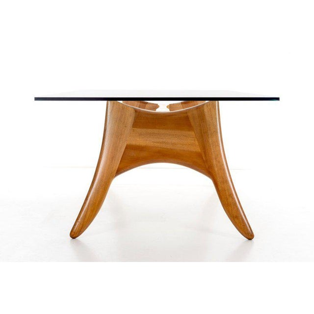 1970s 1970's California Craft Dining Table For Sale - Image 5 of 10