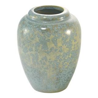 Aqua Crystaline Glaze Vase