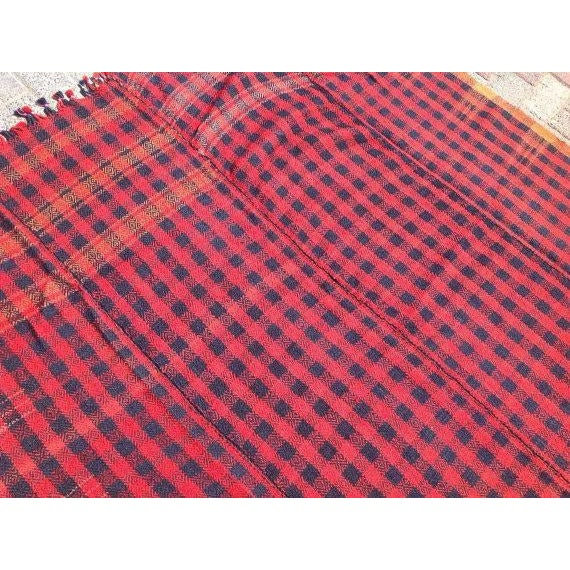 Vintage Hand Made Throw Blanket - Image 5 of 6