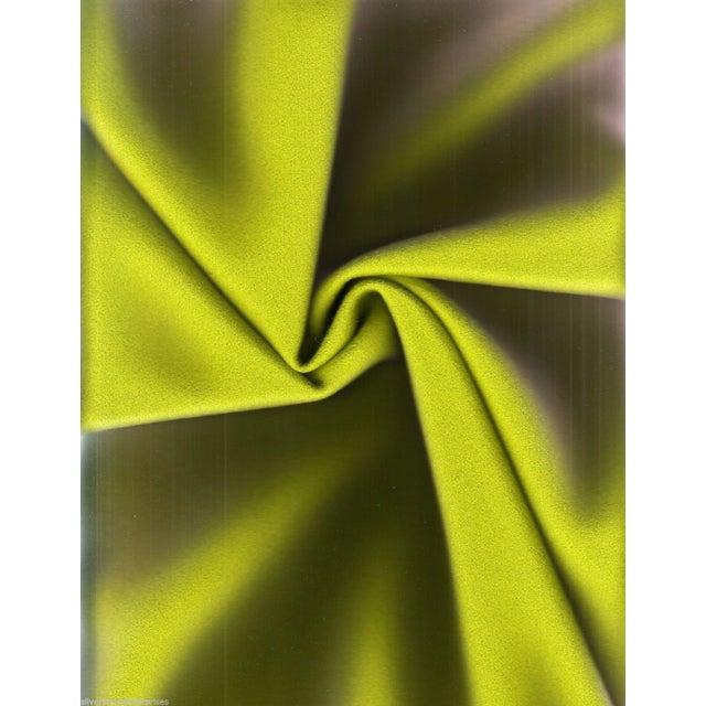 Maharam Kvadrat Kiwi Green Divina Wool - 1.875 Yards - Image 2 of 2