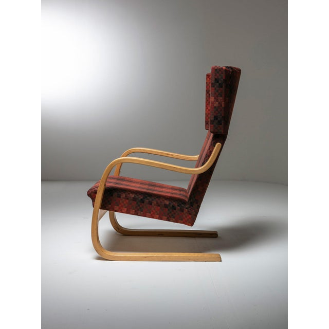 """Contemporary Rare Set of """"401"""" Lounge Chairs by Alvar Aalto for Artek For Sale - Image 3 of 6"""