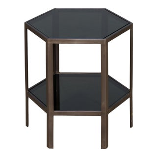 High Modern Hex Table For Sale