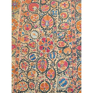 Bokhara Suzani Rug - 4′6″ × 7′7″ For Sale