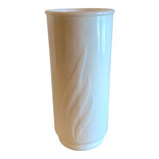 Vintage Milk Glass Vase For Sale