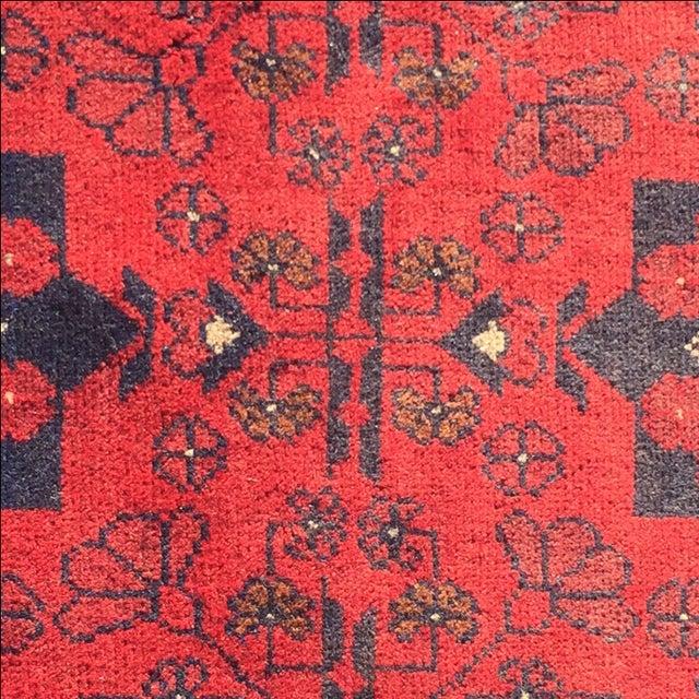 Turkaman Persian Rug - 1′10″ × 3′7″ - Image 8 of 9