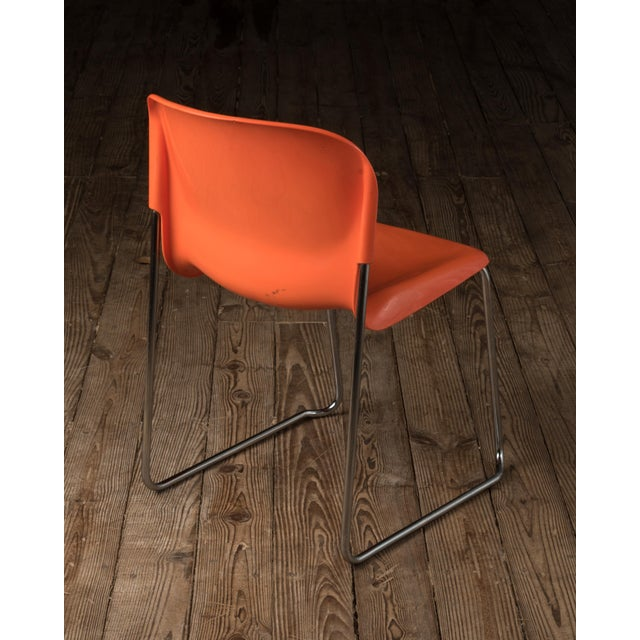 "Gerd Lange 1976 Vintage Gerd Lange ""Swing Chairs"" - Set of 6 For Sale - Image 4 of 13"
