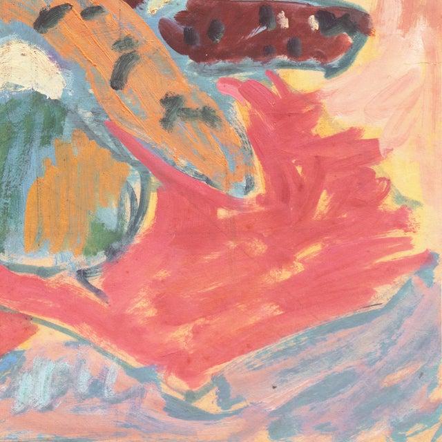 1950s 'Still Life' by Victor Di Gesu; 1955 Paris, Louvre, Académie Chaumière, California Post-Impressionist, Lacma For Sale - Image 5 of 10