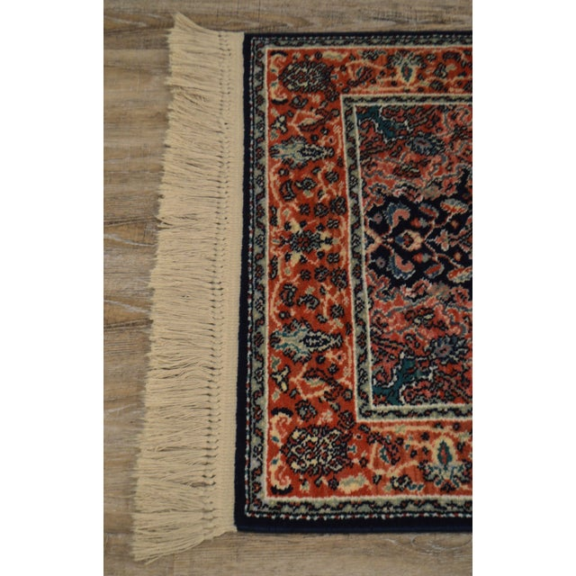 "Karastan Kashan Medallion 2'10"" X 5' Throw Rug #741 For Sale In Philadelphia - Image 6 of 13"