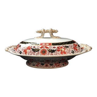 19th Century Ashworth Covered Casserole For Sale