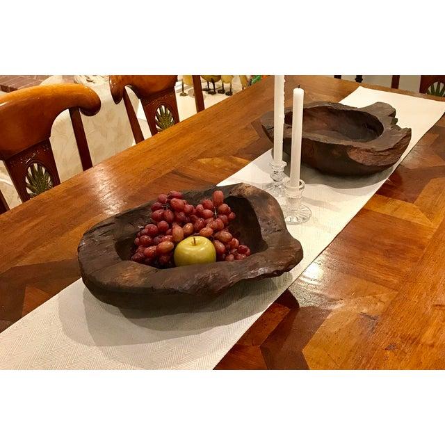 Teak Wood Bowls - A Pair - Image 9 of 12
