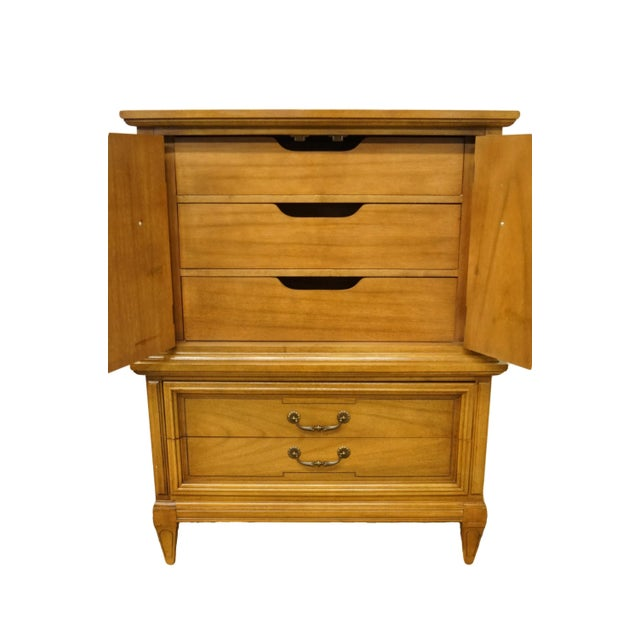 Late 20th Century 20th Century Italian Dixie Furniture Door Chest on Chest For Sale - Image 5 of 13