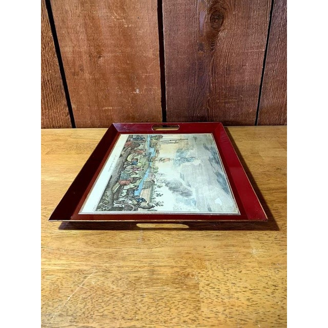 Shabby Chic Serving Tray For Sale - Image 6 of 11