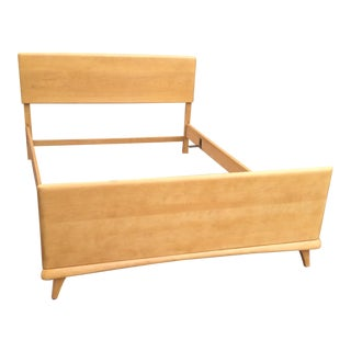 Mid-Century Heywood Wakefield Full Size Bedframe For Sale