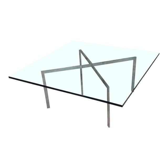 Knoll Studio Barcelona Coffee Table -Mies Van Der Rohe For Sale