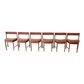 G-Plan Mid-Century Modern Teak Wedge Shaped Dining Chairs - Set of 6 For Sale