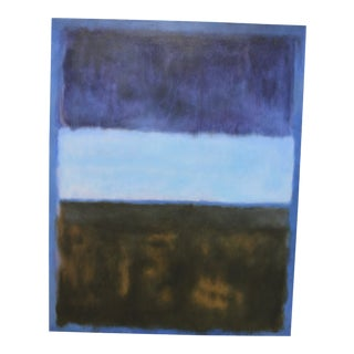 Mark Rothko Inspired Painting For Sale