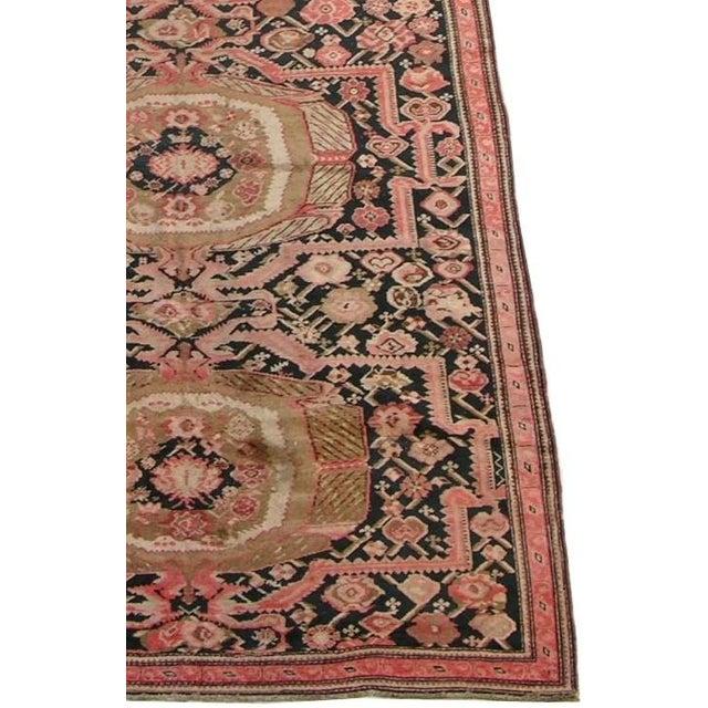 Extremely Fine Oversize Antique Karabagh Runner Rug 19'5'' x 6'7'', Handmade and Hand-Knotted, Tribal and Traditional, Is...