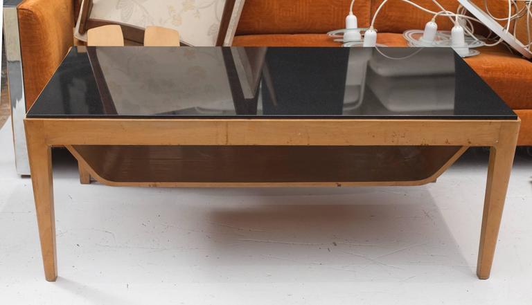Beau Italian Granite Top Coffee Table   Image 3 Of 4