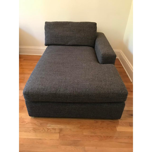 Room & Board Right Arm Chaise Lounge For Sale - Image 5 of 5