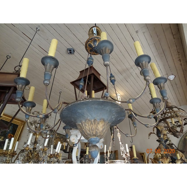 19th Century Italian Chandelier For Sale - Image 13 of 13