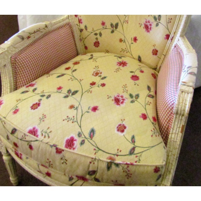Wesley Hills Floral Upholstered Side Chair - Image 3 of 6
