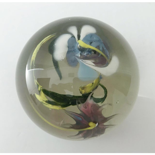 Italian Murano Glass Paperweight For Sale In Palm Springs - Image 6 of 9