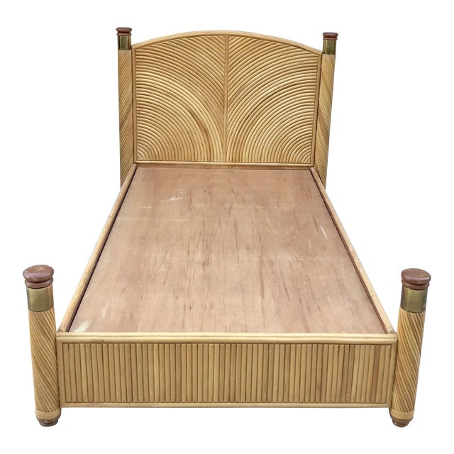 Rattan Twin Bed Frame - Image 1 of 7