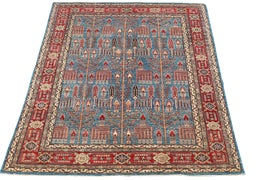 Image of Burnt Orange Traditional Handmade Rugs