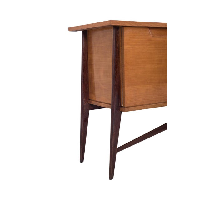 Belgian De Coene Mid-Century Modern Two Tone Sideboard For Sale - Image 3 of 10