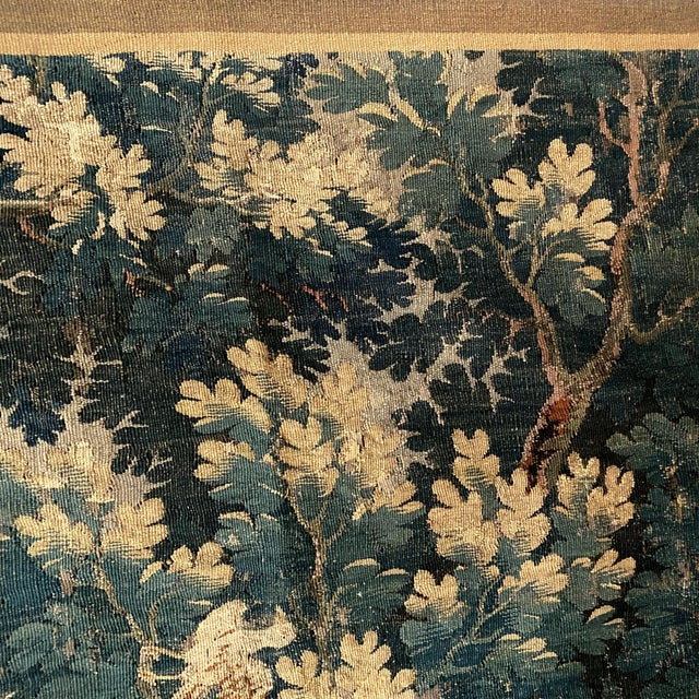 18th Century Vintage Flemish Pictorial Tapestry For Sale In Charleston - Image 6 of 8