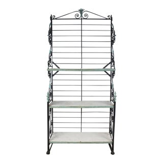1900's Antique French Bakers Rack For Sale
