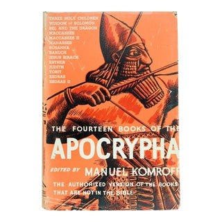 The Apocrypha Book For Sale