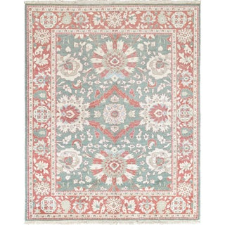 Mansour Superb Quality Handwoven Agra Rug