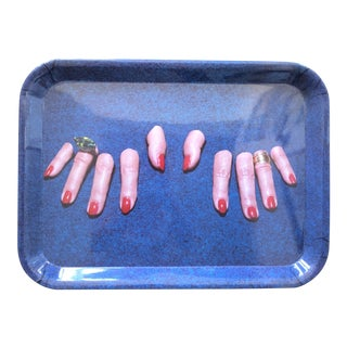 Seletti for Toiletpaper Surreal Hands & Fingers Tray For Sale