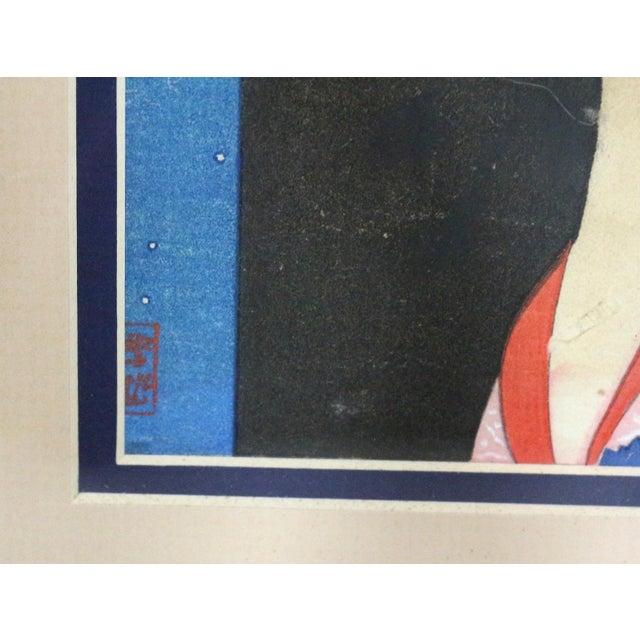 Original 1800s Japanese Asian Art Print - Image 4 of 6