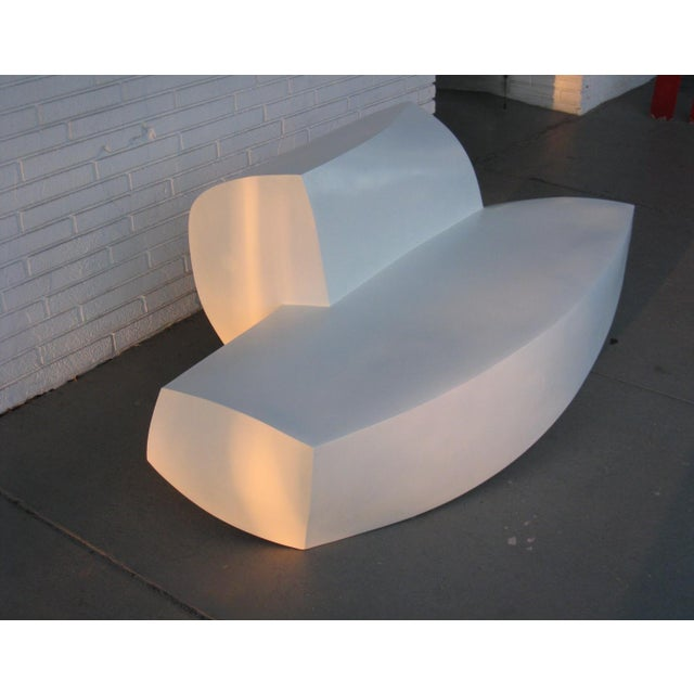 Frank Gehry Molded Plastic Sofa - Image 3 of 6
